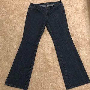 Michael Kors denim flared jeans